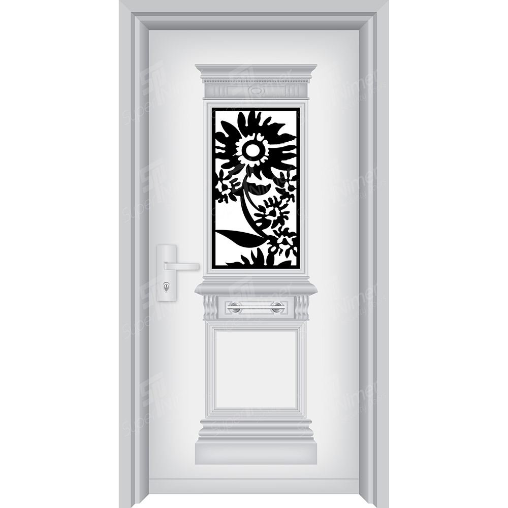 Decorated Doors with View Glass : 2F3M11 -A7